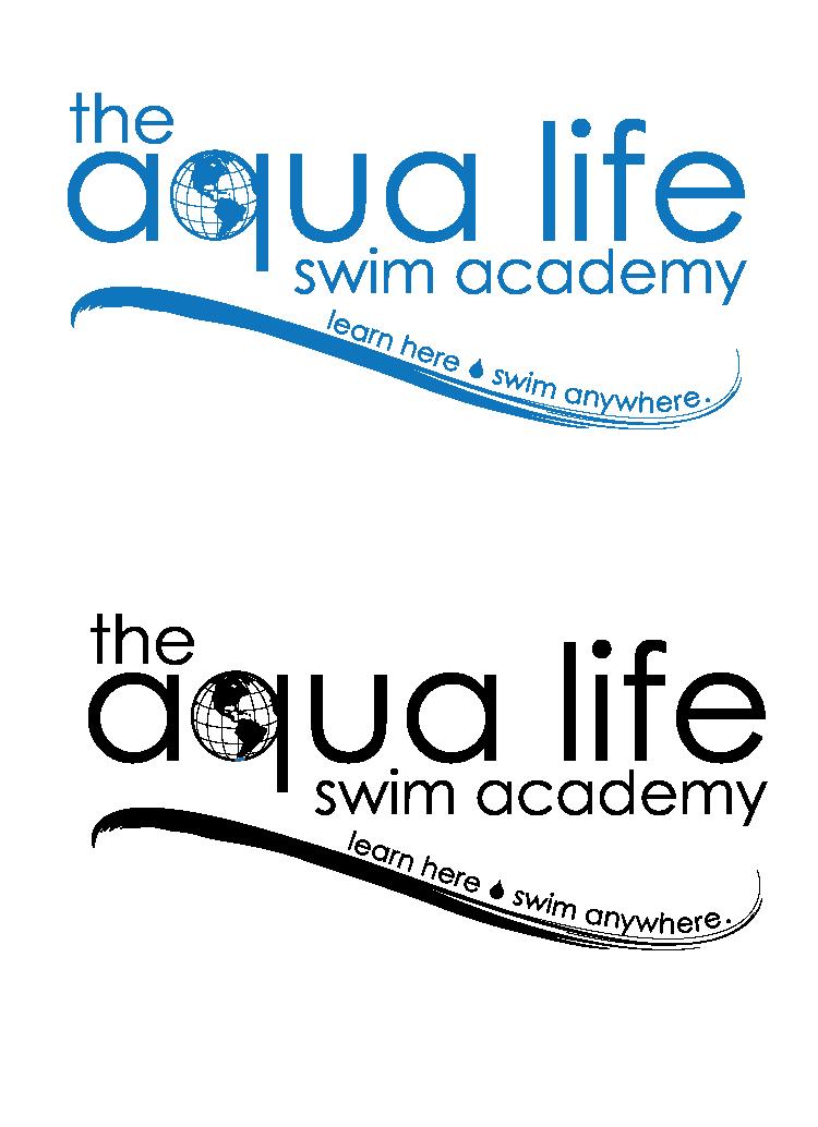 Logo Design by KristiCapek - Entry No. 173 in the Logo Design Contest Artistic Logo Design Wanted for The Aqua Life Swim Academy.