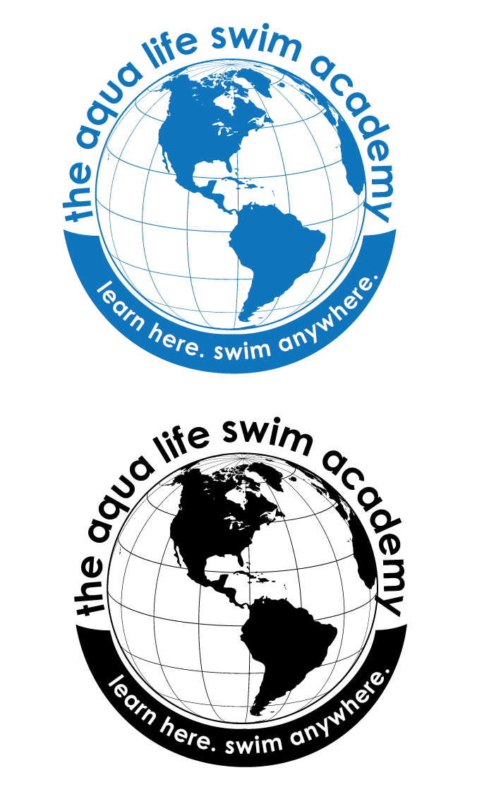 Logo Design by KristiCapek - Entry No. 174 in the Logo Design Contest Artistic Logo Design Wanted for The Aqua Life Swim Academy.
