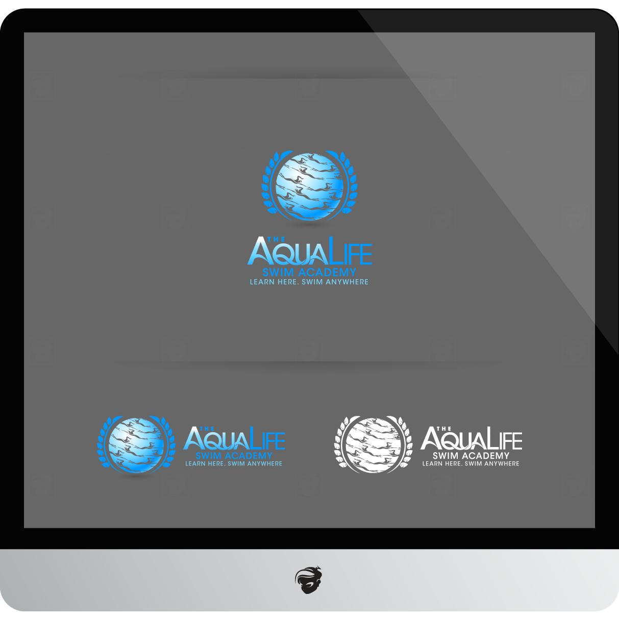 Logo Design by zesthar - Entry No. 179 in the Logo Design Contest Artistic Logo Design Wanted for The Aqua Life Swim Academy.