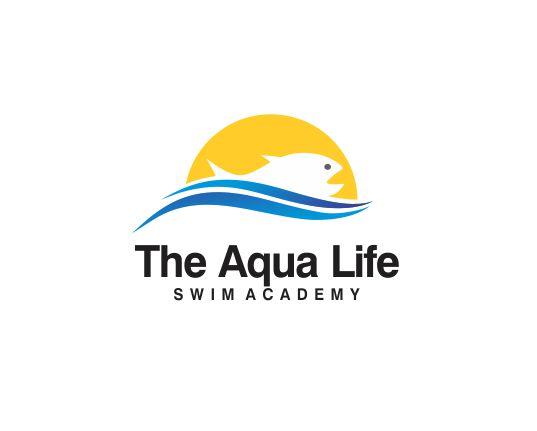 Logo Design by ronny - Entry No. 183 in the Logo Design Contest Artistic Logo Design Wanted for The Aqua Life Swim Academy.