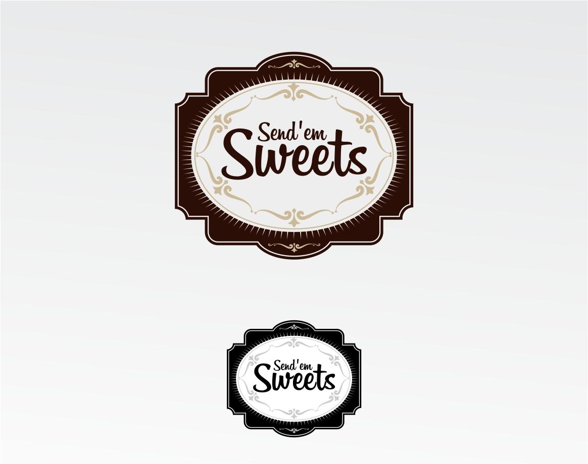 Logo Design by haidu - Entry No. 31 in the Logo Design Contest Creative Logo Design for Send 'em Sweets.