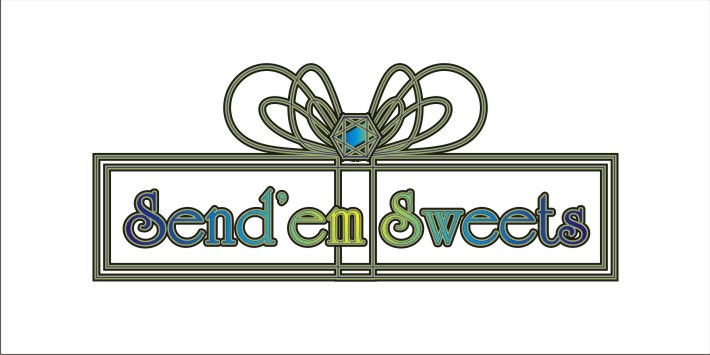 Logo Design by Robertus Ferry - Entry No. 33 in the Logo Design Contest Creative Logo Design for Send 'em Sweets.