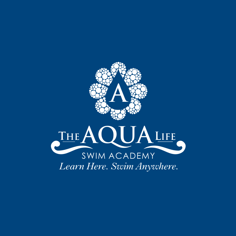 Logo Design by Private User - Entry No. 185 in the Logo Design Contest Artistic Logo Design Wanted for The Aqua Life Swim Academy.