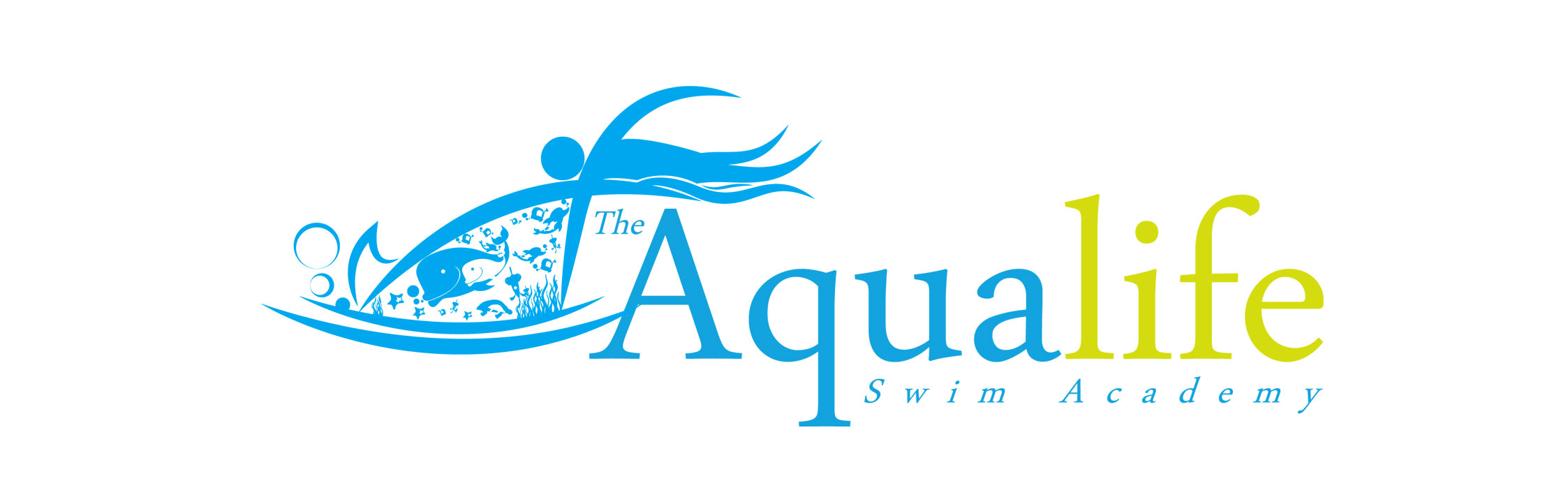 Logo Design by Dit Pambudi - Entry No. 191 in the Logo Design Contest Artistic Logo Design Wanted for The Aqua Life Swim Academy.