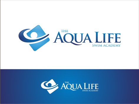 Logo Design by key - Entry No. 192 in the Logo Design Contest Artistic Logo Design Wanted for The Aqua Life Swim Academy.