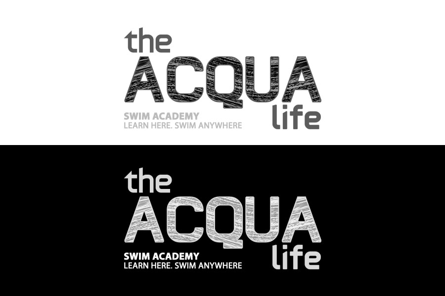 Logo Design by Private User - Entry No. 193 in the Logo Design Contest Artistic Logo Design Wanted for The Aqua Life Swim Academy.