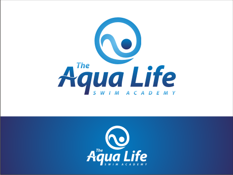 Logo Design by key - Entry No. 195 in the Logo Design Contest Artistic Logo Design Wanted for The Aqua Life Swim Academy.