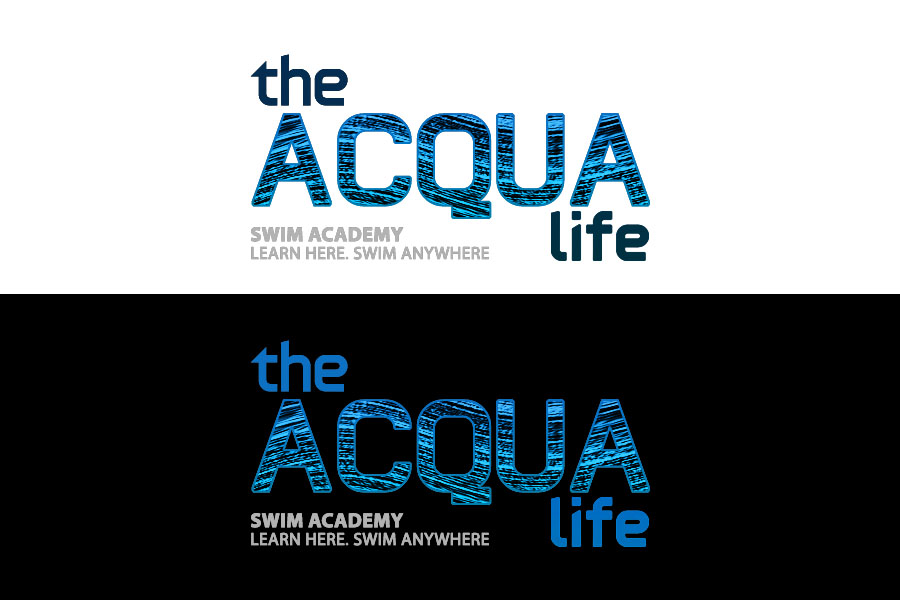 Logo Design by Private User - Entry No. 196 in the Logo Design Contest Artistic Logo Design Wanted for The Aqua Life Swim Academy.