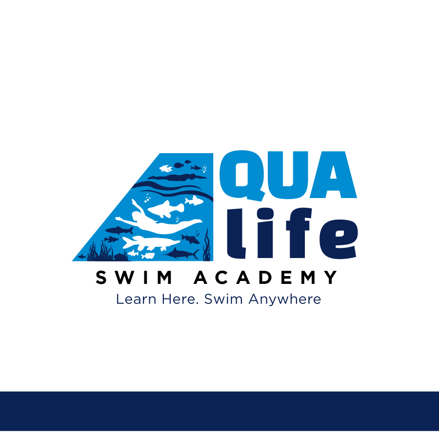 Logo Design by Edward Goodwin - Entry No. 202 in the Logo Design Contest Artistic Logo Design Wanted for The Aqua Life Swim Academy.