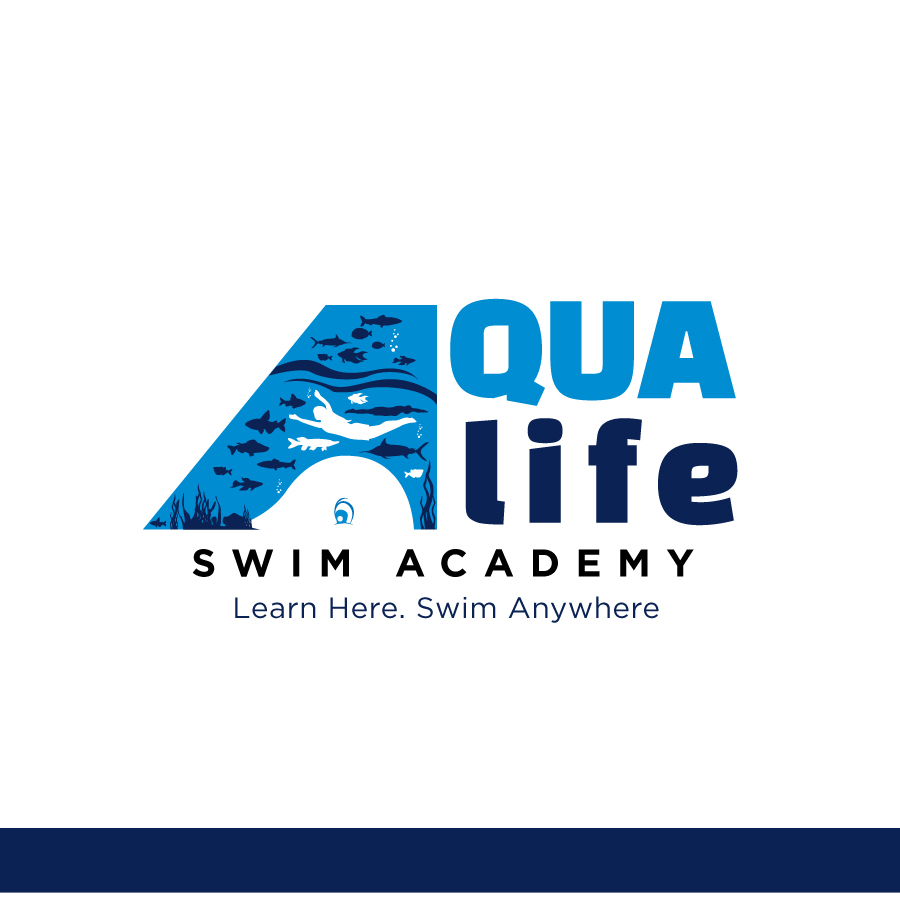 Logo Design by Edward Goodwin - Entry No. 207 in the Logo Design Contest Artistic Logo Design Wanted for The Aqua Life Swim Academy.