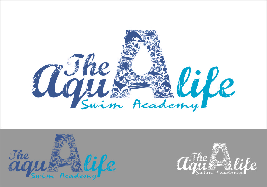 Logo Design by RasYa Muhammad Athaya - Entry No. 208 in the Logo Design Contest Artistic Logo Design Wanted for The Aqua Life Swim Academy.