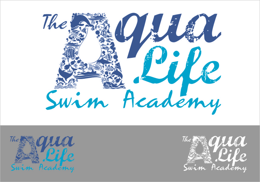 Logo Design by Ngepet_art - Entry No. 210 in the Logo Design Contest Artistic Logo Design Wanted for The Aqua Life Swim Academy.