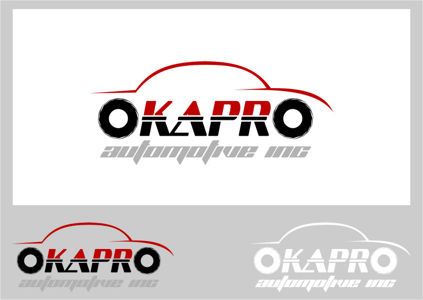 Logo Design by RasYa Muhammad Athaya - Entry No. 3 in the Logo Design Contest New Logo Design for Okapro  Automotive  Inc.