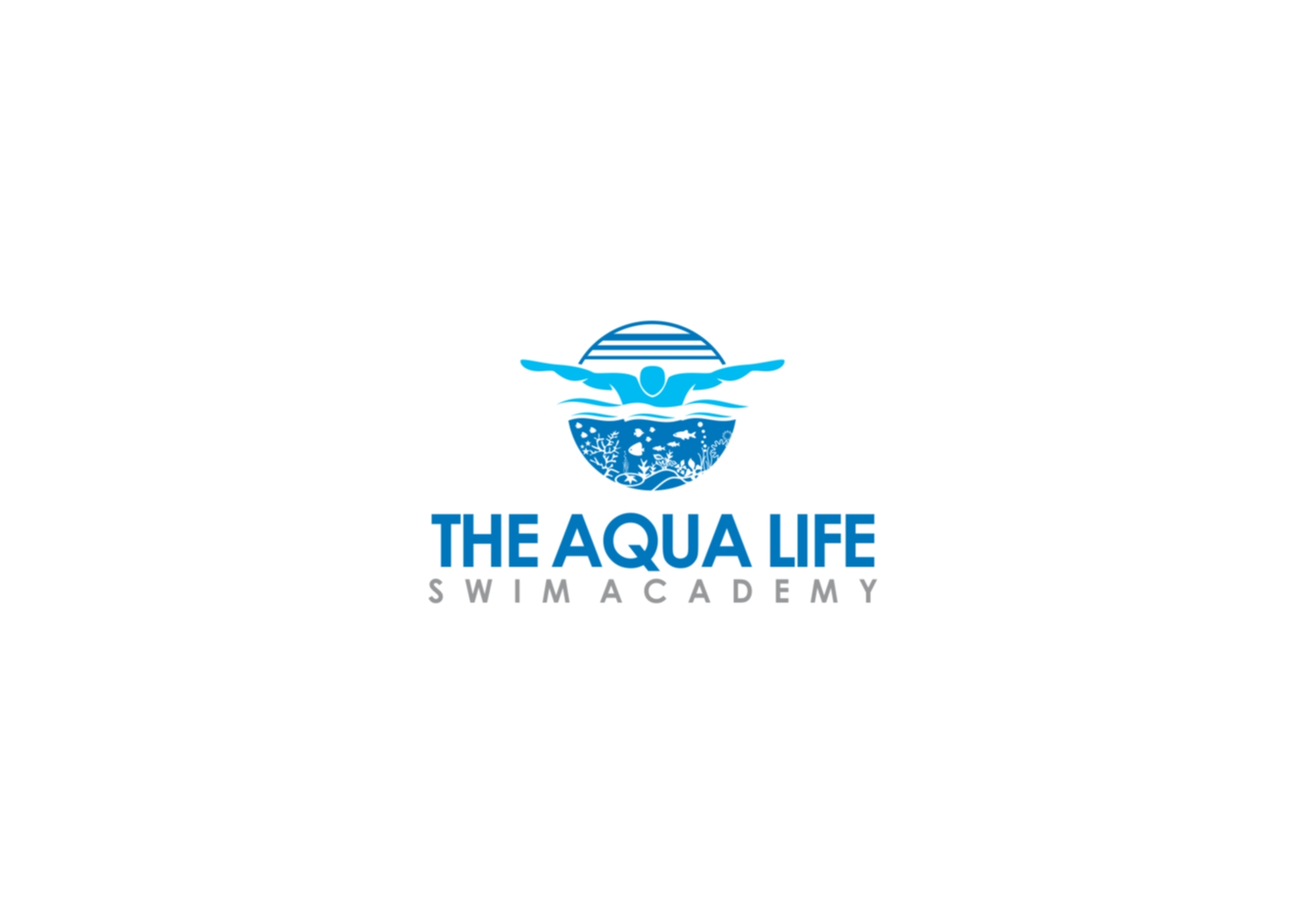 Logo Design by Private User - Entry No. 221 in the Logo Design Contest Artistic Logo Design Wanted for The Aqua Life Swim Academy.