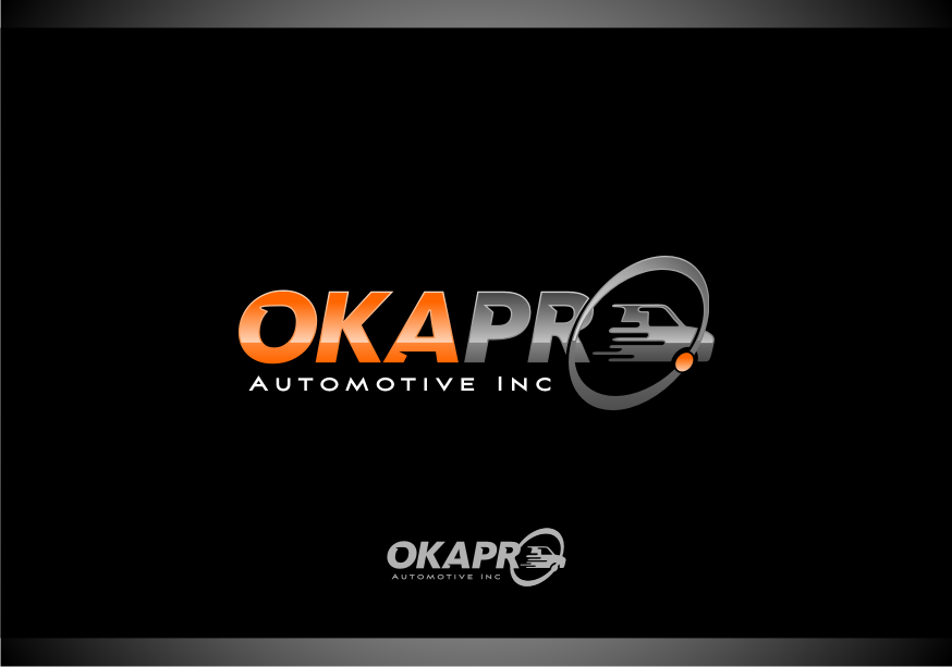 Logo Design by graphicleaf - Entry No. 5 in the Logo Design Contest New Logo Design for Okapro  Automotive  Inc.