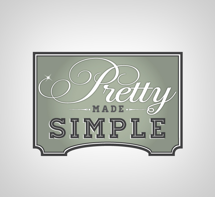Logo Design by nausigeo - Entry No. 14 in the Logo Design Contest Pretty Made Simple Logo Design.