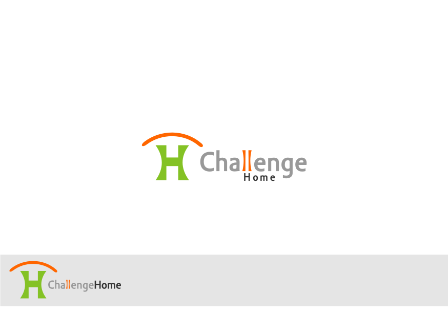 Logo Design by graphicleaf - Entry No. 4 in the Logo Design Contest Unique Logo Design Wanted for Challenge Home.