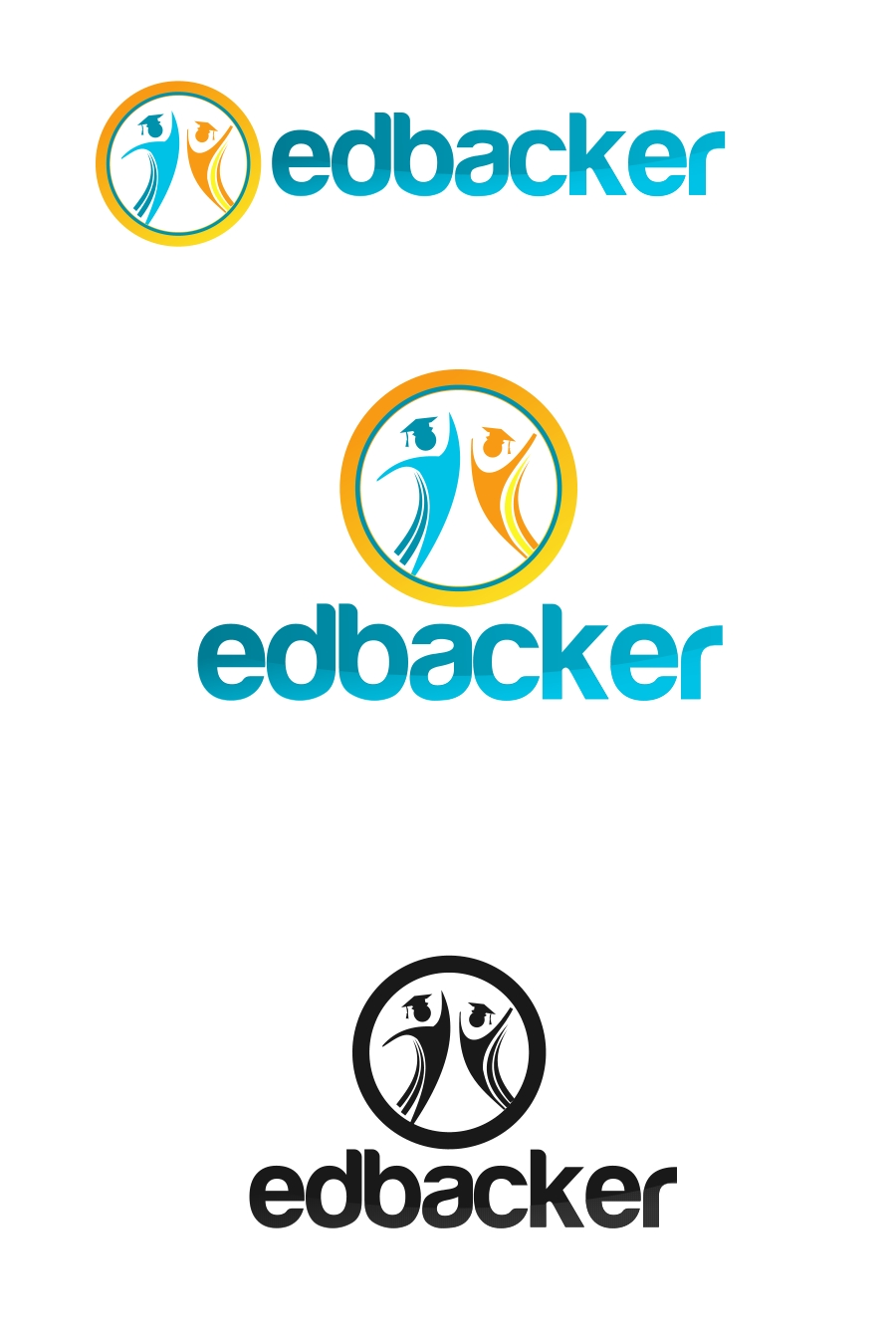 Logo Design by Private User - Entry No. 10 in the Logo Design Contest New Logo Design for edbacker.