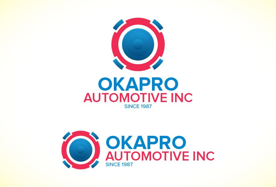 Logo Design by Shahriar Zaman - Entry No. 8 in the Logo Design Contest New Logo Design for Okapro  Automotive  Inc.
