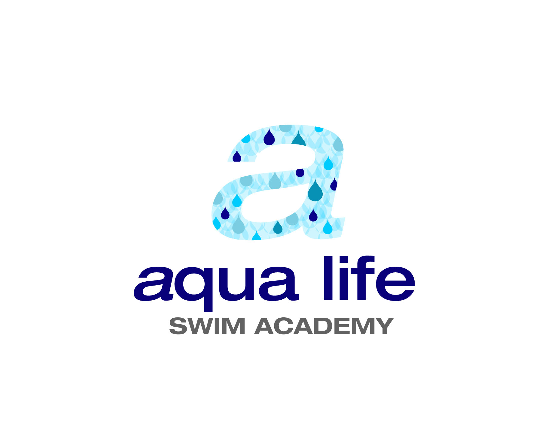 Logo Design by Lama Creative - Entry No. 228 in the Logo Design Contest Artistic Logo Design Wanted for The Aqua Life Swim Academy.