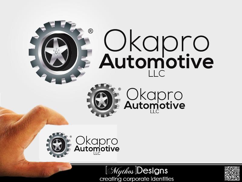 Logo Design by Mythos Designs - Entry No. 15 in the Logo Design Contest New Logo Design for Okapro  Automotive  Inc.
