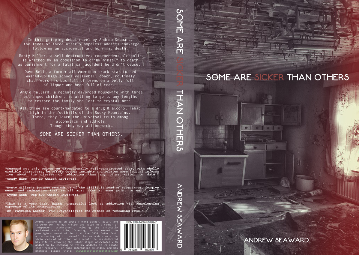 Book Cover Design by Utkarsh Bhandari - Entry No. 12 in the Book Cover Design Contest Inspiring Book Cover Design for Some Are Sicker Than Others.