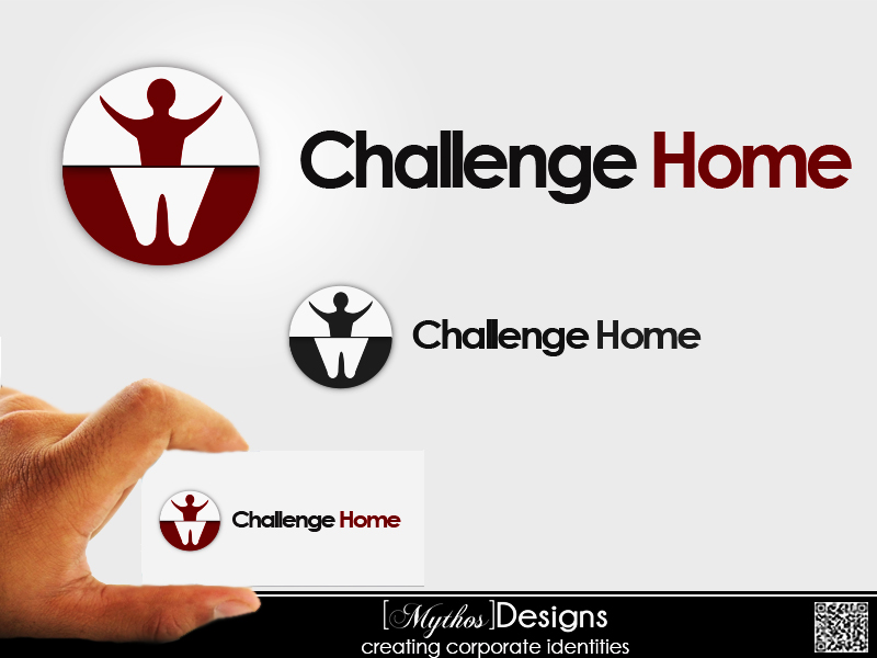 Logo Design by Mythos Designs - Entry No. 13 in the Logo Design Contest Unique Logo Design Wanted for Challenge Home.