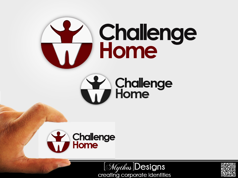 Logo Design by Mythos Designs - Entry No. 15 in the Logo Design Contest Unique Logo Design Wanted for Challenge Home.