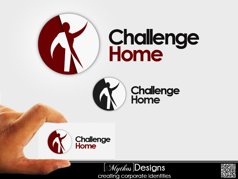 Logo Design by Mythos Designs - Entry No. 16 in the Logo Design Contest Unique Logo Design Wanted for Challenge Home.