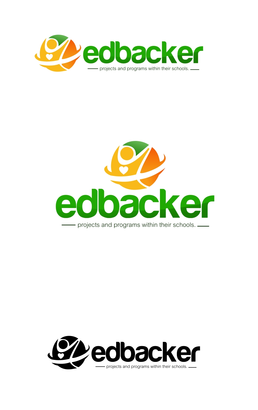 Logo Design by Private User - Entry No. 19 in the Logo Design Contest New Logo Design for edbacker.