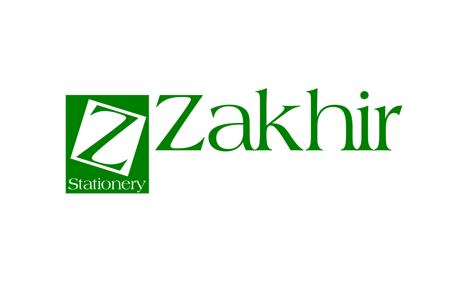 Logo Design by Gheburaseye - Entry No. 14 in the Logo Design Contest Zakhir Logo Design.