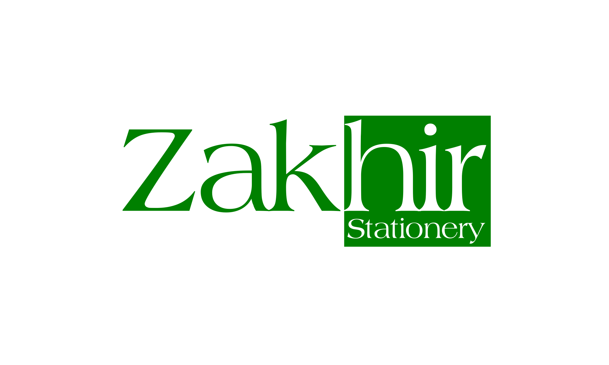 Logo Design by Gheburaseye - Entry No. 15 in the Logo Design Contest Zakhir Logo Design.