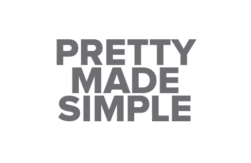 Logo Design by Shahriar Zaman - Entry No. 29 in the Logo Design Contest Pretty Made Simple Logo Design.