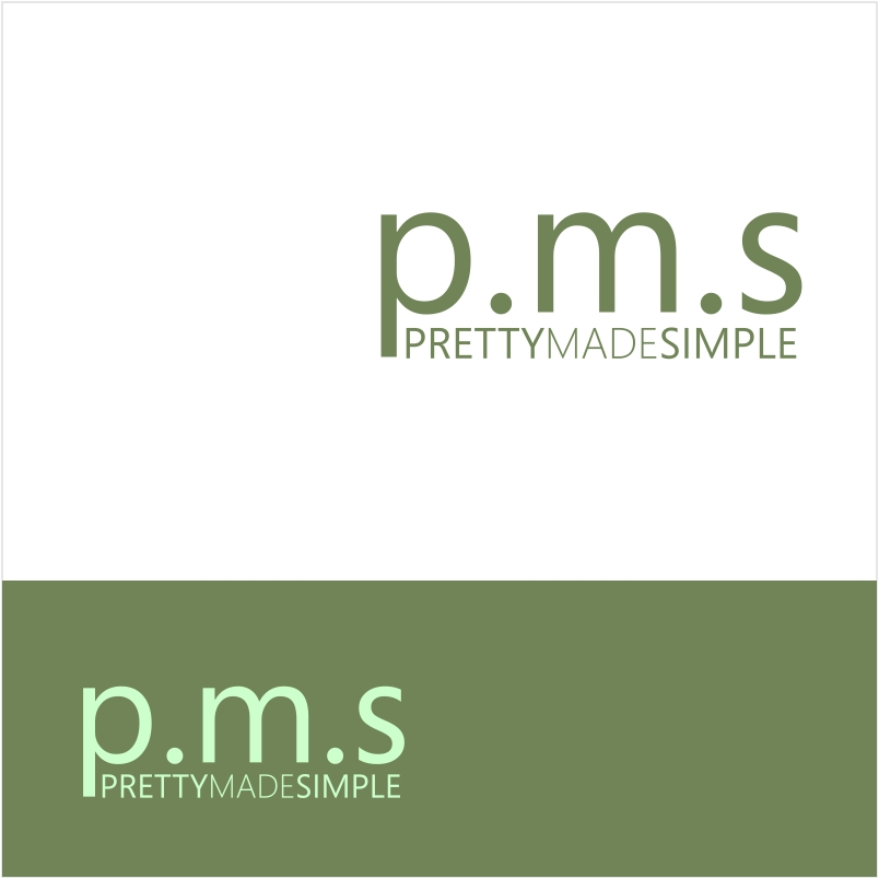 Logo Design by Pixelit - Entry No. 31 in the Logo Design Contest Pretty Made Simple Logo Design.