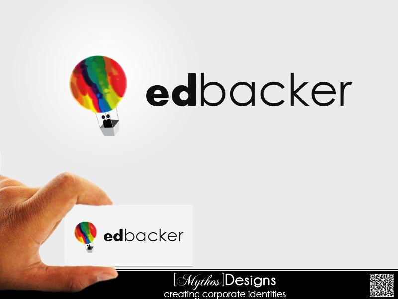 Logo Design by Mythos Designs - Entry No. 22 in the Logo Design Contest New Logo Design for edbacker.