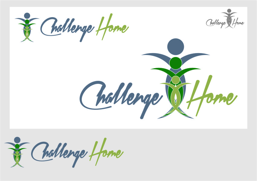 Logo Design by Ngepet_art - Entry No. 28 in the Logo Design Contest Unique Logo Design Wanted for Challenge Home.
