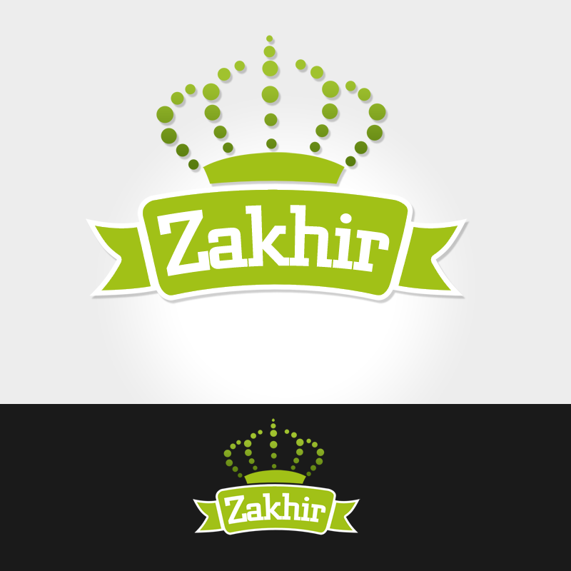 Logo Design by Robert Turla - Entry No. 25 in the Logo Design Contest Zakhir Logo Design.