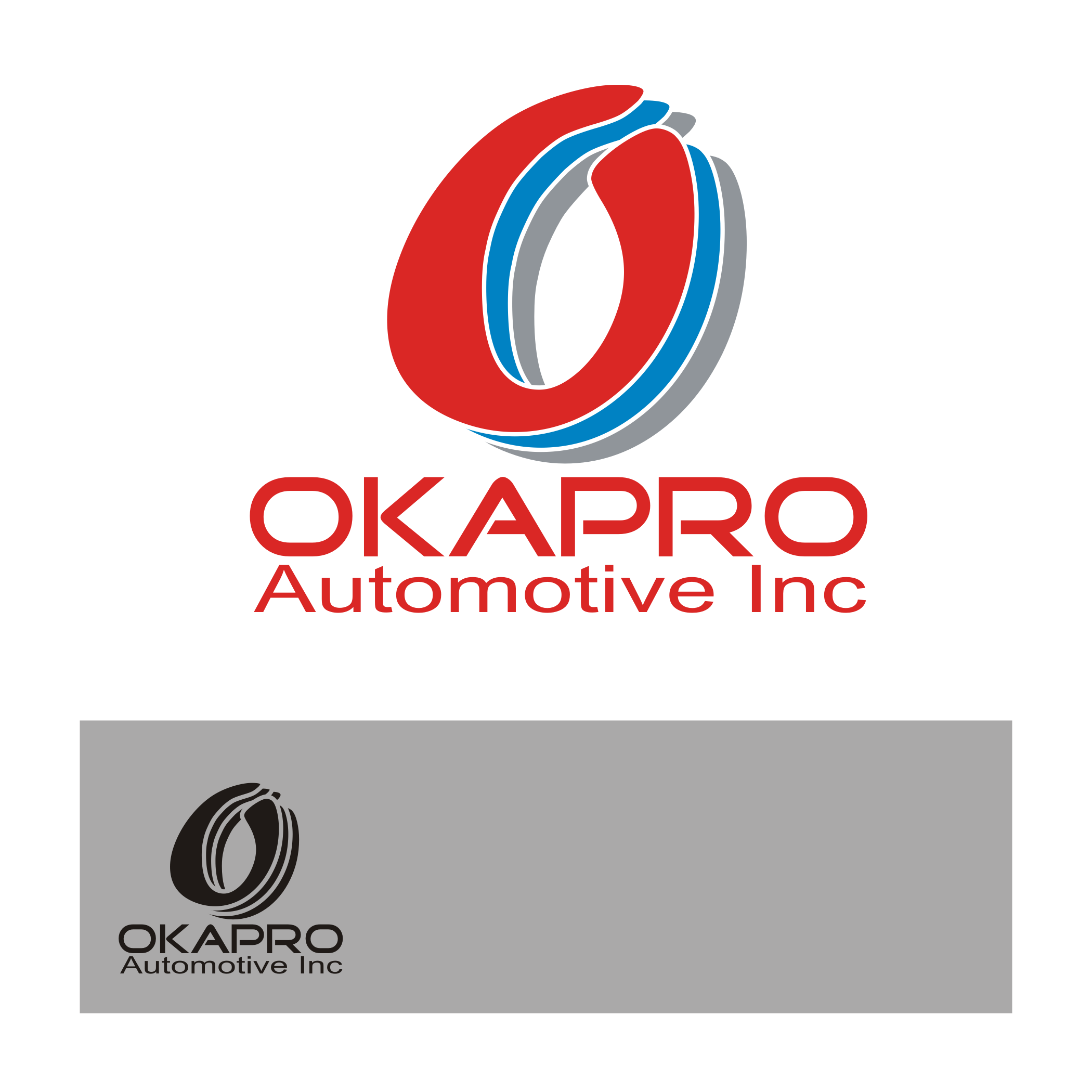 Logo Design by Aveeb Murdavein - Entry No. 18 in the Logo Design Contest New Logo Design for Okapro  Automotive  Inc.
