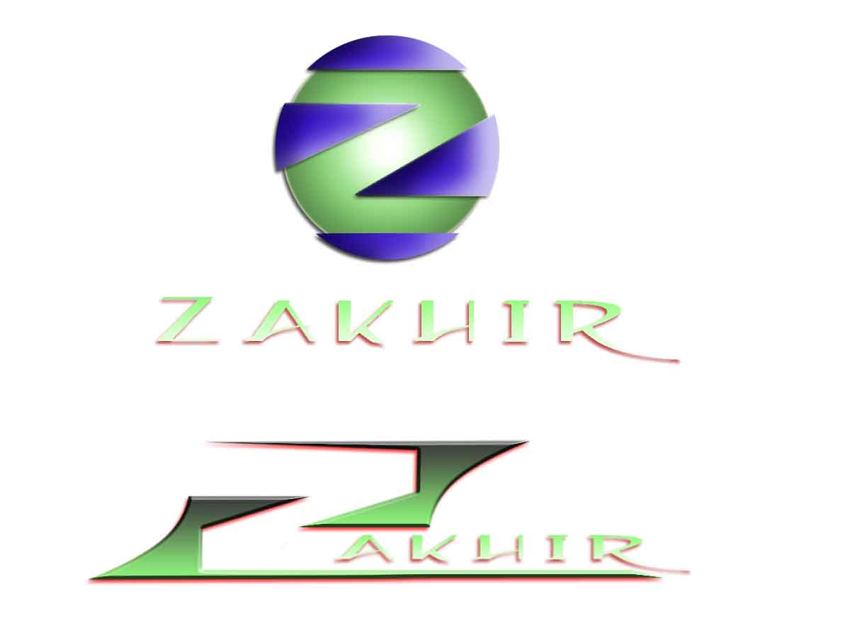 Logo Design by Private User - Entry No. 27 in the Logo Design Contest Zakhir Logo Design.
