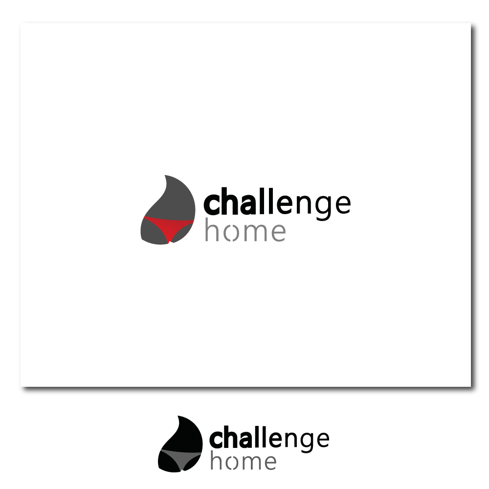 Logo Design by rockin - Entry No. 34 in the Logo Design Contest Unique Logo Design Wanted for Challenge Home.