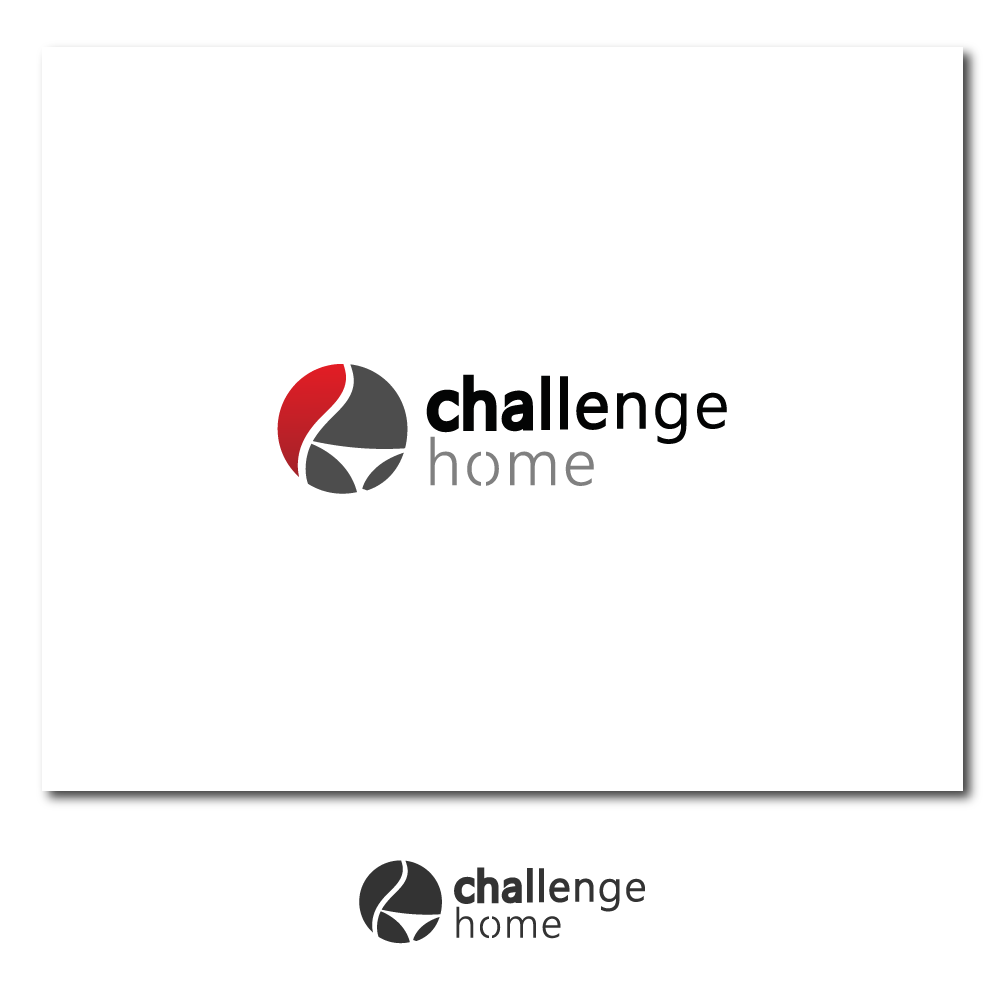 Logo Design by rockin - Entry No. 35 in the Logo Design Contest Unique Logo Design Wanted for Challenge Home.