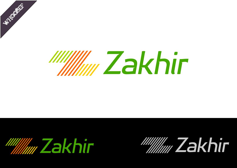 Logo Design by whoosef - Entry No. 32 in the Logo Design Contest Zakhir Logo Design.