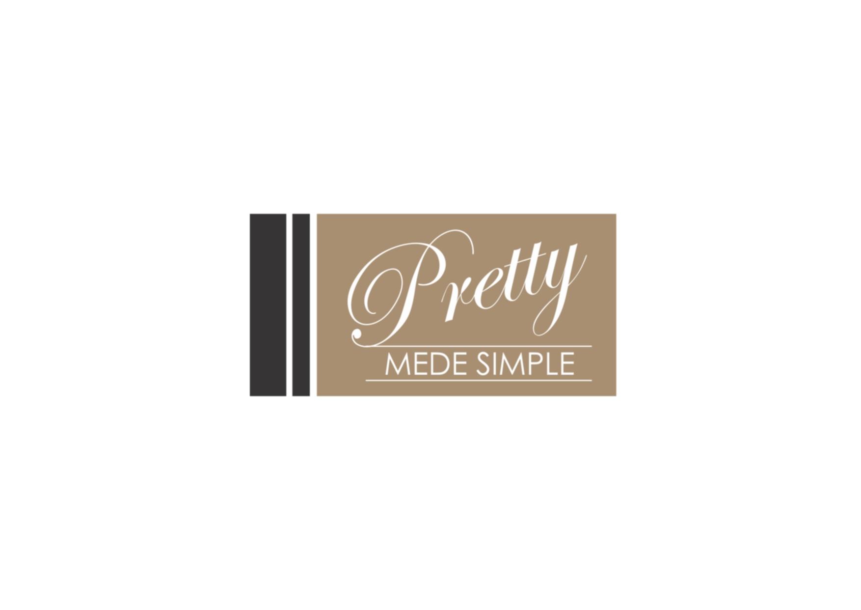 Logo Design by Private User - Entry No. 36 in the Logo Design Contest Pretty Made Simple Logo Design.