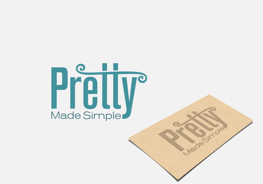 Logo Design by graphicleaf - Entry No. 37 in the Logo Design Contest Pretty Made Simple Logo Design.