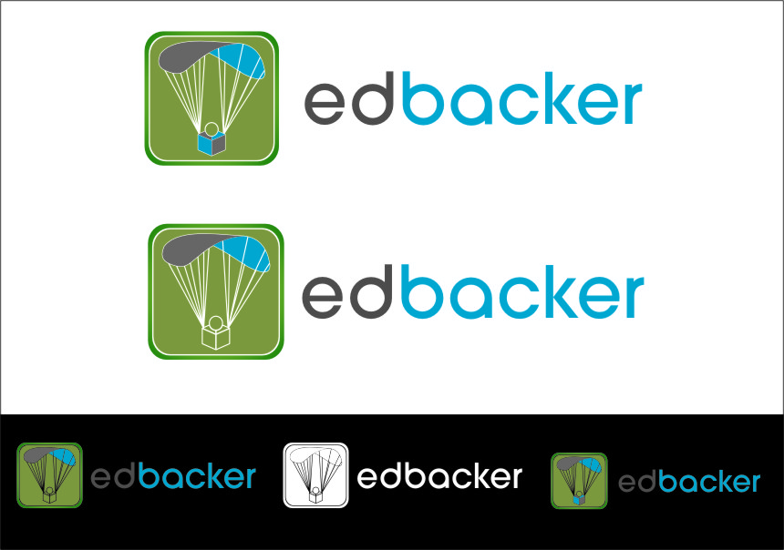 Logo Design by Ngepet_art - Entry No. 38 in the Logo Design Contest New Logo Design for edbacker.