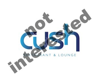 Logo Design by Number-Eight-Design - Entry No. 109 in the Logo Design Contest Cush Restaurant & Lounge Ltd..