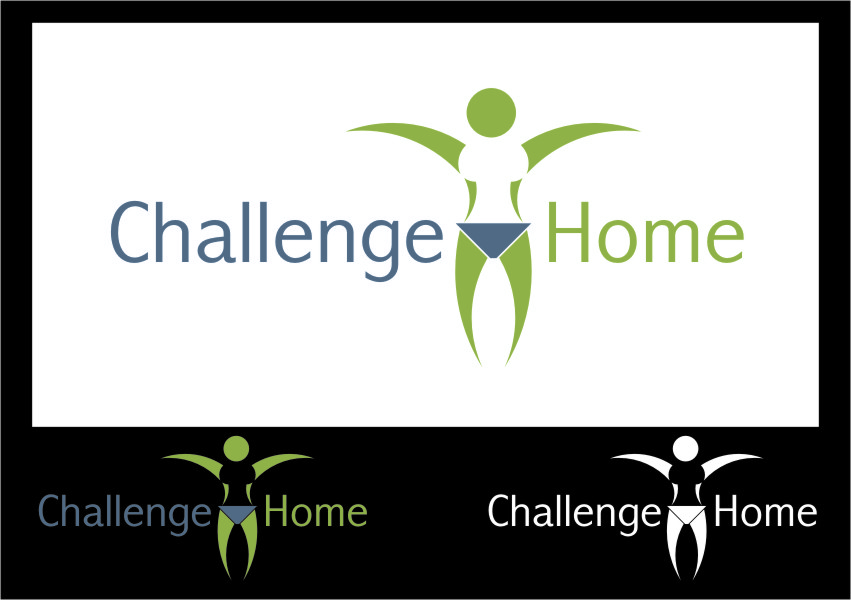 Logo Design by RasYa Muhammad Athaya - Entry No. 36 in the Logo Design Contest Unique Logo Design Wanted for Challenge Home.