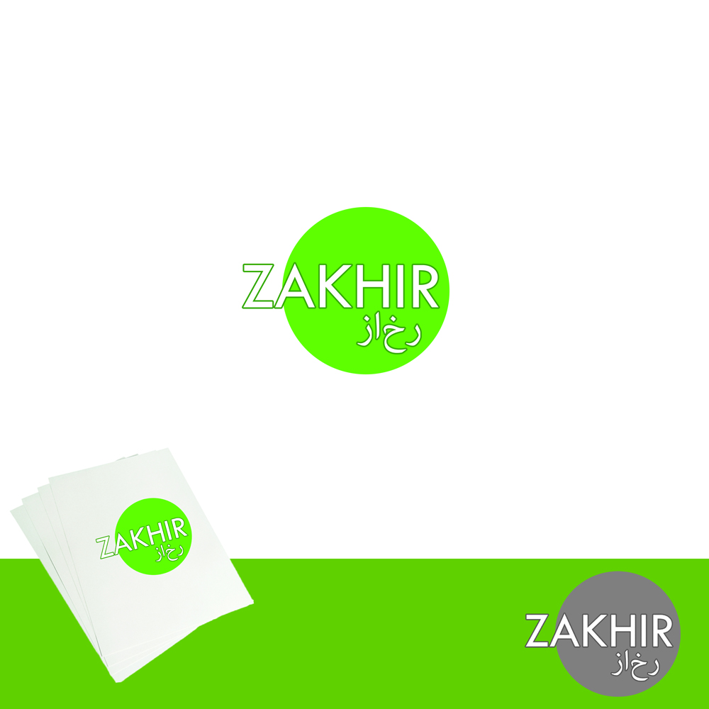 Logo Design by Utkarsh Bhandari - Entry No. 37 in the Logo Design Contest Zakhir Logo Design.