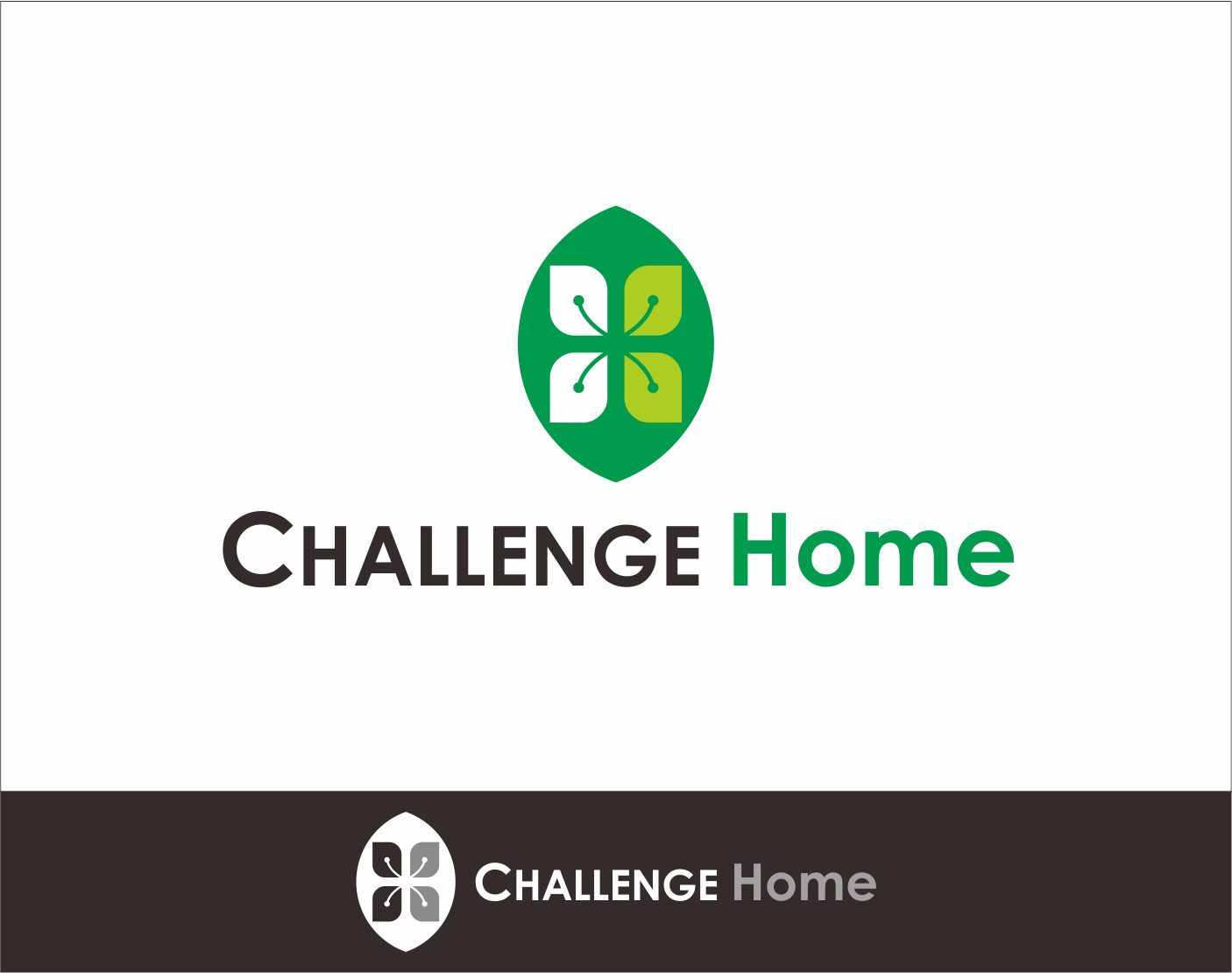 Logo Design by Armada Jamaluddin - Entry No. 39 in the Logo Design Contest Unique Logo Design Wanted for Challenge Home.