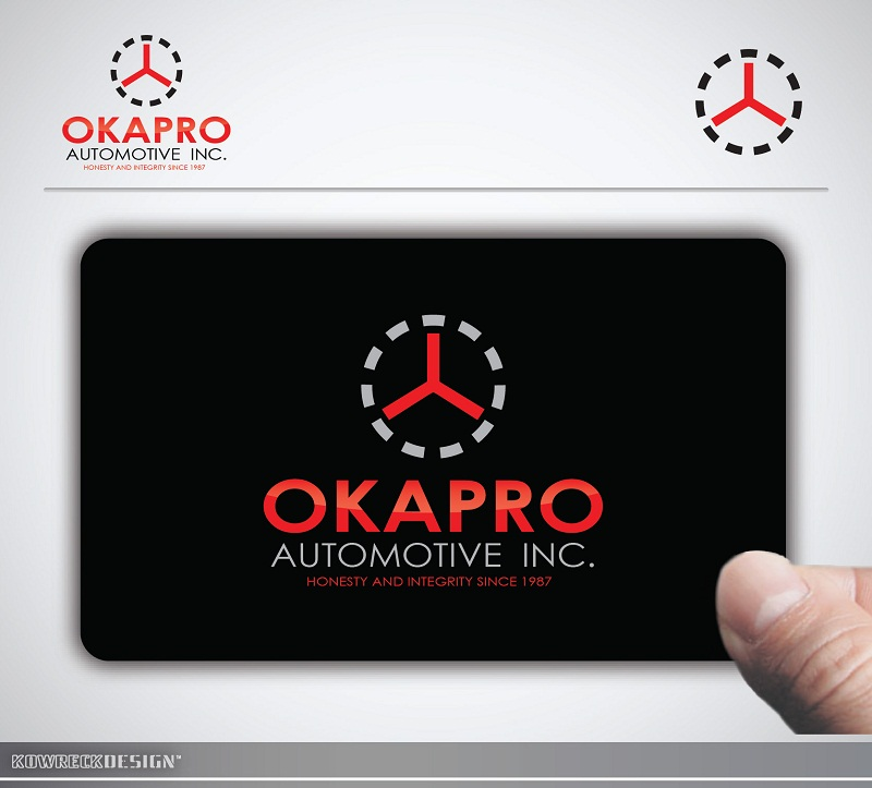 Logo Design by kowreck - Entry No. 25 in the Logo Design Contest New Logo Design for Okapro  Automotive  Inc.